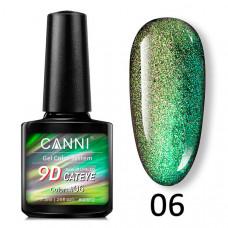Гель-лак Canni 9D 06 Кошачий глаз (Galaxy Cat Eye)