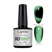 Гель-лак Canni 9D 16 Diamond Green