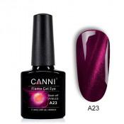 Гель-лак Canni 3D Flame Cat Eye A23 сливовый