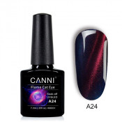 Гель-лак Canni 3D Flame Cat Eye A24 королевский синий