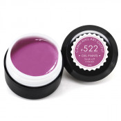 Гель-краска Canni-522 цвета тёмной фуксии 5 мл