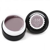 Гель-краска Canni-558 лилово-серый 5 мл