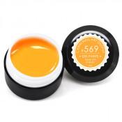 Гель-краска Canni-569 светлая оранжевая неоновая 5 мл
