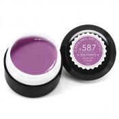 Гель-краска Canni-587 пастельная пурпурная 5 мл