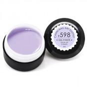 Гель-краска Canni-598 нежный светло-лавандовая 5 мл