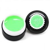 Гель-краска Canni-603 яркая мята 5 мл