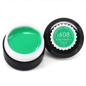 Гель-краска Canni-608 весенняя зелень 5 мл