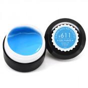Гель-краска Canni-611 сине-голубая 5 мл