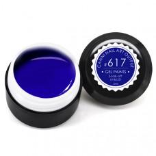 Гель-краска Канни (Canni) 617 пастельная синяя
