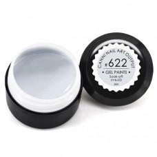 Гель-краска Канни (Canni) 622 серо-белая