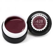 Гель-краска Canni-628 коричнево-бордовая 5 мл