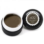 Гель-краска Canni-632 грязно-коричневая 5 мл