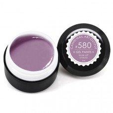 Гель-краска Канни (Canni) 580 пастельно-лиловая