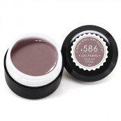 Гель-краска Canni-586 фиолетово-серая 5 мл