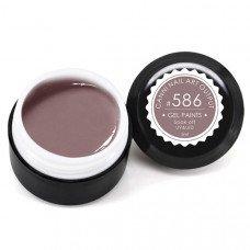 Гель-краска Канни (Canni) 586 фиолетово-серая