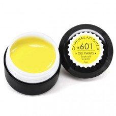 Гель-краска Канни (Canni) 601 тёпло-жёлтая