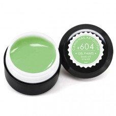 Гель-краска Канни (Canni) 604 бледно-салатовая