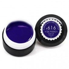 Гель-краска Канни (Canni) 616 глубокая тёмно-синяя