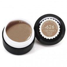 Гель-краска Канни (Canni) 626 пастельная светло-коричневая