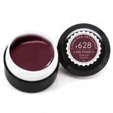 Гель-краска Канни (Canni) 628 коричнево-бордовая