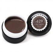 Гель-краска Canni-629 коричневая 5 мл