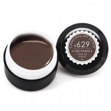 Гель-краска Канни (Canni) 629 коричневая