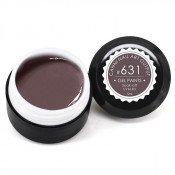 Гель-краска Canni-631 тёмная коричнево-серая 5 мл