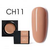 Цветной мусс-гель Canni CH11 светло-терракотовый 5 мл