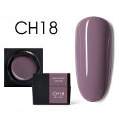 Цветной мусс-гель Canni CH18 светлый ежевичный 5 мл