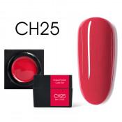 Цветной мусс-гель Canni CH25 малиново-красный 5 мл