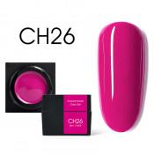 Цветной мусс-гель Canni CH26 фуксия 5 мл