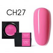 Цветной мусс-гель Canni CH27 розовая фуксия 5 мл