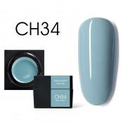 Цветной мусс-гель Canni CH34 серо-голубой 5 мл