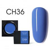 Цветной мусс-гель Canni CH36 лазурный 5 мл