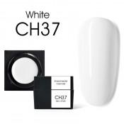 Цветной мусс-гель Canni CH37 белый 5 мл