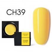Цветной мусс-гель Canni CH39 ярко-желтый 5 мл