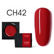 Цветной мусс-гель Canni CH42 красный 5 мл