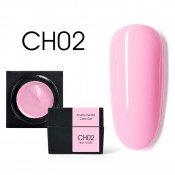 Цветной мусс-гель Canni CH02 нежно-розовый 5 мл