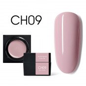 Цветной мусс-гель Canni CH09 бежево-розовый 5 мл