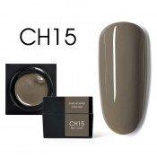 Цветной мусс-гель Canni CH15 коричневый опал 5 мл