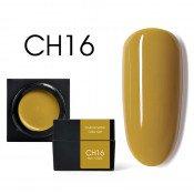 Цветной мусс-гель Canni CH16 горчичный 5 мл