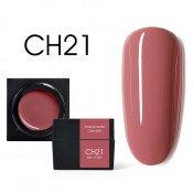 Цветной мусс-гель Canni CH21 бежево-коралловый 5 мл