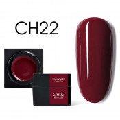 Цветной мусс-гель Canni CH22 красно-коричневый 5 мл