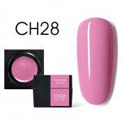 Цветной мусс-гель Canni CH28 перламутрово-розовый 5 мл