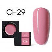 Цветной мусс-гель Canni CH29 пепельно-розовый 5 мл