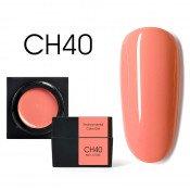 Цветной мусс-гель Canni CH40 коралловый 5 мл