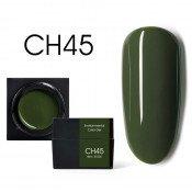 Цветной мусс-гель Canni CH45 хаки 5 мл