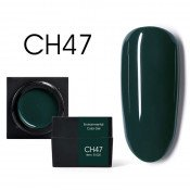 Цветной мусс-гель Canni CH47 темно-зеленый 5 мл