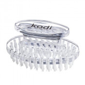 Щеточка для удаления пыли прозрачная овальная Kodi