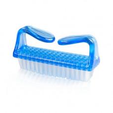 Купить щеточку для удаления пыли YRE утюжок голубую